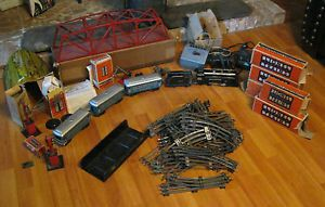 Lionel Prewar Train Set 264E Engine 609 611 261T with Boxes and Lots of EXTRAS