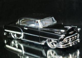 1953 Chevy Bel Air Dub City Old Skool Diecast 1 24 Scale Black