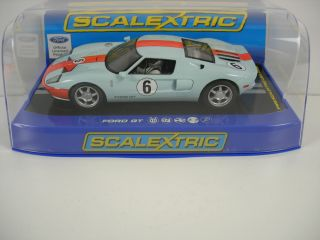 Scalextric Ford GT Heritage Livery Limited Edition 1 32 Scale Slot Car C3324