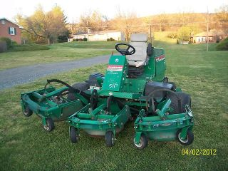 Ransomes Contour Batwing Mower Kubota Diesel Engine 9 Foot Cut WAM Mower