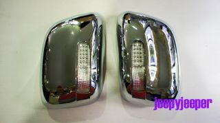 Immo Chrome Mirror Cover LED Nissan Frontier Navara D40 Pathfinder 2005 2012