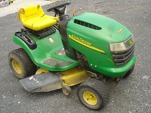 John Deere L100 Parts On Popscreen. Used John Deere L100 Riding Lawn Tractor Briggs And Stratton Engine 42in Deck. John Deere. John Deere 130l Lawn Tractor Parts Diagram At Scoala.co