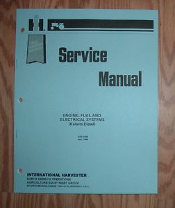 Cub Cadet 782 882 1512 Kubota 3 Cylinder Diesel Engine Service Manual