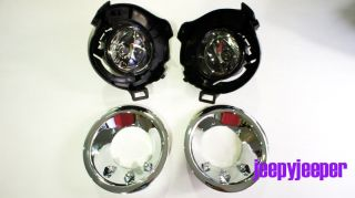 Spot Light Fog Lamp Nissan Frontier Navara D40 Pathfinder with Chrome LED Cover