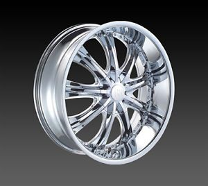 """26"""" Red Sport 33 Wheels Rims Tires Fitchevy Cadillac GMC Ford Old School Cars"""