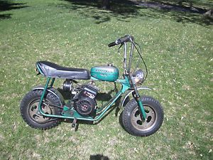 Vintage Speedway Shark Mini Bike with Lighting Coil Engine Rupp Fox Minibike