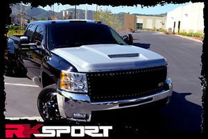 New Rksport Chevy Silverado RAM Air Hood Only Fiberglass Truck Body Kit 29014000