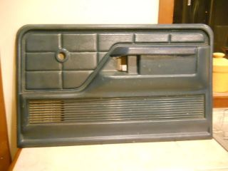1973 1979 Ford F100 F350 Passenger's Side Door Panel Blue