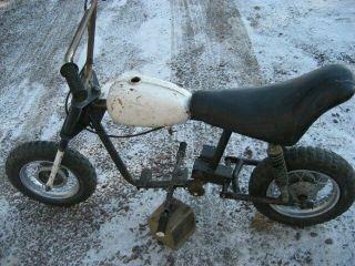 Vintage Minibike Mini Bike Frame Rupp