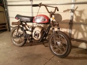 Vintage Chaparral Mini Bike Minibike Original RARE 1973