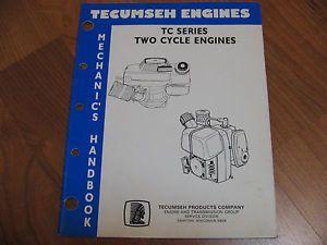 Tecumseh TC Series Two Cycle 2 Stroke Engines Repair Manual 694782