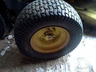 John Deere Front Tire Wheel Assembly 16x7 50 8 Garden Tractor 112 210 214 200
