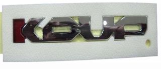 2009 2013 Kia Forte Koup Cerato Koup Koup Letters Emblem Badge