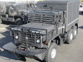 M931A2 Doomsday 5 Ton Monster Military 6x6 Cargo Truck Tractor Cummins Diesel