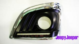 LED Daytime Running Light Fog Lamp Light Cover Toyota Hiace Commuter 2010 2012