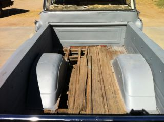 1955 Chevy P U Big Window Shop Truck Pro Street Hot Rod Project