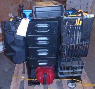 Mobile Shop PM 390 Tools Parts with Professional Maintenance Cart System