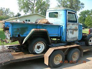 1948 49 50 51 52 53 54 55 56 57 58 59 Willys Jeep Parts Truck Rat Rod Project