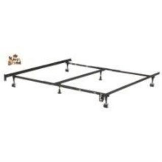 Heavy Duty 6 Leg Adjustable Universal Twin Full Queen King Metal Bed Frame