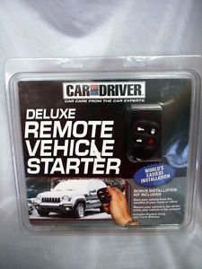 Car and Driver Deluxe Remote Vehicle Starter Kit