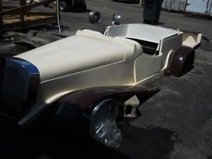 1939 Mercedes Benz Kit Car Fits VW Chassis Replica Project Car Needs Assembly