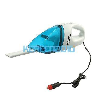 Car Handheld 12V Dry Vacuum Cleaner Portable Wet Mini Auto Dust Blue Hoover