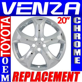 "1 PC Toyota Venza 20"" Chrome Wheel Skins Rim Covers Hub Caps Wheels"