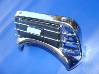 1964 64 Ford Galaxie Fairlane 500 XL Console Chrome Trim Ash Tray Mercury S55