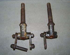 Rat Rod Ford Front Axle Spring Perches Rough Good Threads Model A 1932 Hot Rod