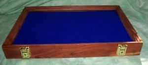 Wood Display Cases Arrowheads Knives Medals Cedar Wood