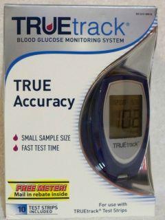 Truetrack True Accuracy Blood Glucose Monitoring System