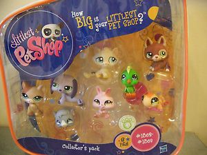 Littlest Pet Shop Collectors Starter Pack w Carry Case 8 Pets New Iguana Set