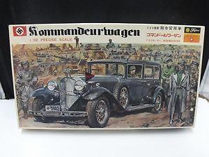 Fujimi 1 32 Kommandeurwagen German WWII Command Car Vintage Model Car Kit