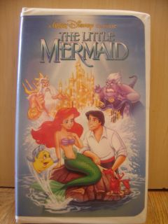 Disney The Little Mermaid VHS Banned Naughty Recalled Cover RARE