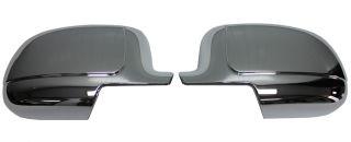 New Putco Chrome Side Mirror Covers Fits Cadillac Chevrolet GMC Trucks
