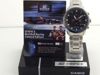 Casio Edifice Chrono Red Bull Racing Limited Edition Tough Solar Radiocontrolled