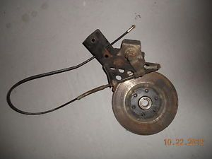 1992 Arctic Cat Ext 550 El Tigre Snowmobile Brake Assembly Caliper Rotor Cable
