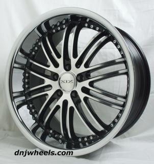 20 XIX x23 Chevrolet Corvette C4 C5 Staggered Machine Black Wheels Toyo Tires