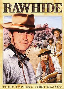 Rawhide The Complete First Season DVD Eric Fleming Clint Eastwood