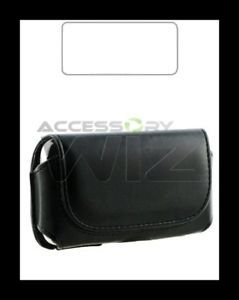 Tracfone LG 800G Side Leather Phone Case Cover Pouch