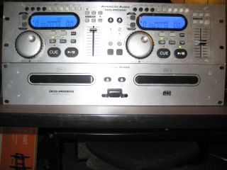 American Audio DCD PRO600 Professional Dual CD Player