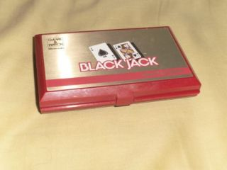 Black Jack Game Watch 1985 Nintendo NES RARE Vintage Handheld Game Casino