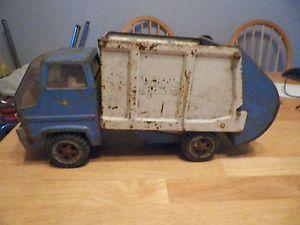 Vintage 1960s Tonka Sanitation Service Garbage Truck Toy