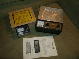 Lot of 2 SWR Meters Ham Radio CB Antenna Tuners Royce 2 097 Vecor 2415