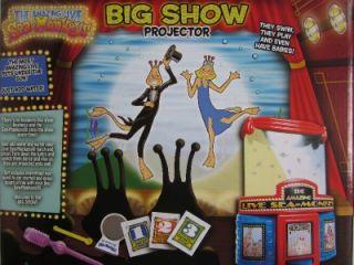 Sea Monkeys Big Show Projector Theater Play Set Aquarium Live Pets Tank Science