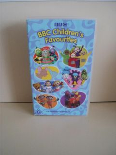 RARE VHS BBC Childrens Favourites Teletubbies Tweenies More G 2003