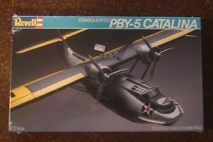 Revell 1 72 Scale PBY 5 Catalina Model Kit Still in Cellophane Wrap U s A