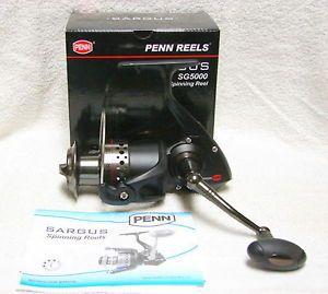 Penn Sargus SG5000 Spinning Reel Saltwater Freshwater New