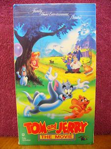 Tom and Jerry The Movie VHS Video 1992 Animated Childrens' Family Cartoon