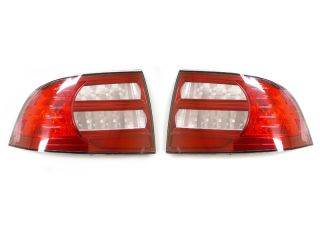 Depo Combo 2004 2008 Acura TL LED Side Marker Red Clear Tail Lights